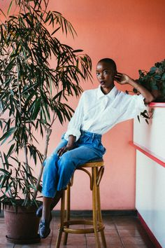 """blackfashion: """" Amy Amantle. 21. Gaborone, Botswana. submitted by: http://amyamantle.tumblr.com/ photographed by: http://bunnywaylah.tumblr.com/ """""""