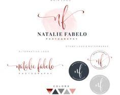 Logo Premade Branding Kit Photography logo package