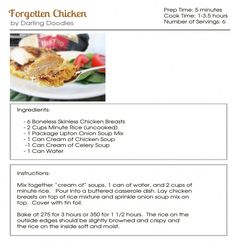 Forgotten Chicken