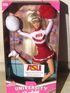 Yeah this will be my daughters first barbie doll, gotta start'em young!  Arizona State University <3
