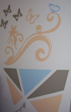Decorative wall painting on pinterest decorative wall for How to paint a wall yourself