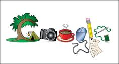 If life were a google doodle....