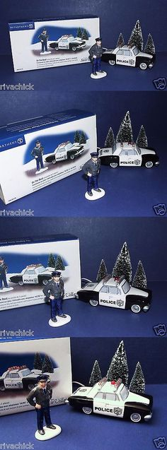 collectibles: Department 56 Snow Village On The Beat (Set Of 2) #55026 Free Shipping -> BUY IT NOW ONLY: $43 on eBay!