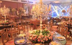 A festa da Manuela Blanco teve decoração de castelo e show da Ludmilla