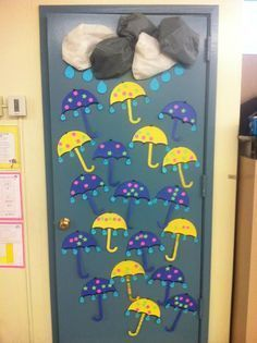- Spring Bulletin Board is just one of our many bulletin board ideas. We have thousands of fun and unique teaching ideas that are great for the classroom and at home! Door Bulletin Boards, Bulletin Board Borders, Spring Bulletin Boards, Preschool Bulletin Boards, Fall Crafts, Crafts For Kids, School Doors, Bulletins, Spring Door