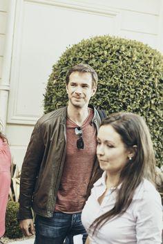 28 Sept 2016 (Day1): Jury Member, James D'Arcy arrive at Barrière Le Grand Hôtel Dinard James D'arcy, British Film Festival, Bomber Jacket, Fashion, Moda, Fashion Styles, Fashion Illustrations, Bomber Jackets