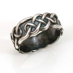 Hey, I found this really awesome Etsy listing at https://www.etsy.com/listing/75220247/celtic-knot-mens-ring-silver-handmade