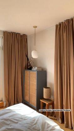 Apartment Design, Apartment Ideas, Dream Home Design, House Design, Rainbow Room, Wabi Sabi, Drapery, 21st Century, Home Projects