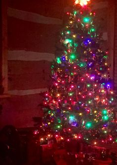 Christmas in our Colorado Cottage.  #KMGLIFE