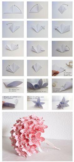 Diy Pink Flowers | DIY  Crafts Tutorials
