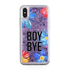 Glitter skal till Apple iPhone X - Boy Bye