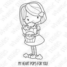 Cute saying for popcorn Valentine Doodle Drawings, Doodle Art, Cute Drawings, Embroidery Applique, Embroidery Patterns, Quilt Patterns, Whimsy Stamps, Digi Stamps, Valentine Love