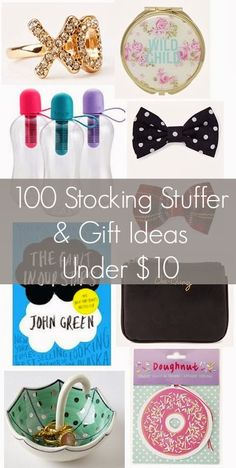 Over 100 Stocking Stuffer And Gift Ideas Under $10