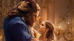 Emma Watson and Dan Stevens as Bell and the Beast in the movie version of the classic by Disney