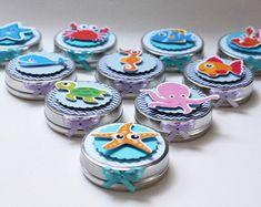 latinha-mint-to-be-fundo-do-mar-balinhas Octonauts Party, Under The Sea Party, Its My Bday, Mermaid Birthday, Baby Shark, 1st Birthday Parties, Bernardo, Baby Shower, Little Mermaid Birthday