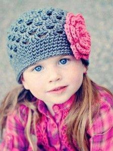 Gorros tejidos a crochet.