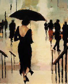 Sweet surrender, by Lorraine Christie (painter born in Ireland, 1967)