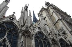 a very beautiful Gothic Cathedral
