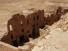 abandoned berber village, Douiret, Tunisia