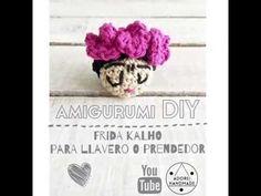 Amigurumi Frida Kalho - YouTube