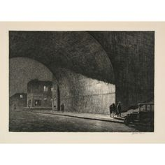 Martin Lewis print.  Of all of his that I love, this is the one I covet most. 1929.