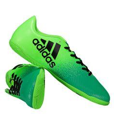 30837931ce954 Chuteira Adidas X 16.4 IN Futsal Verde Somente na FutFanatics você compra  agora Chuteira Adidas X