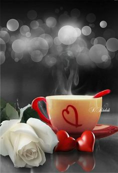 Beautiful morning quotes, coffee cup art, coffee cafe, my coffee, i love Coffee Cup Art, Coffee Heart, I Love Coffee, Coffee Cafe, My Coffee, Good Morning Coffee, Coffee Break, Buenos Dias Quotes, Flower Tea