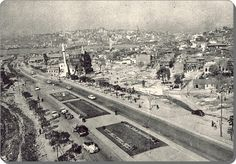 Unkapanı , Atatürk bulvarı - 1950 ler