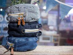 サークルデザインのかわいいデニムポーチ! デニム雑貨の通販 デニムバッグなどデニム小物の販売|araiyan|商品詳細