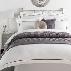 Hotel Portland White Bed Linen Collection