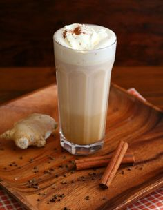 Low Carb Pumpkin Chai Latte Recipe | All Day I Dream About Food