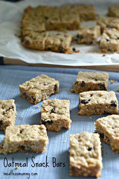 Easy oatmeal lunchbox bars | YummyMummyClub.ca