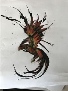 New Phoenix Bird Tattoo Simple 68 Ideas Bird Tattoo Men, Lion Tattoo, Forearm Tattoo Men, Cage Tattoos, Body Art Tattoos, Sleeve Tattoos, Ink Tattoos, Phoenix Bird Tattoos, Phoenix Tattoo Design