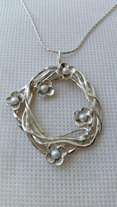 Joyería Colgante plata esterlina Hecho a mano 925 por TalyaDesign