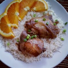 "Slow Cooker Adobo Chicken I ""This is absolutely scrumptious! Likely to become a household favorite. Yum!"""