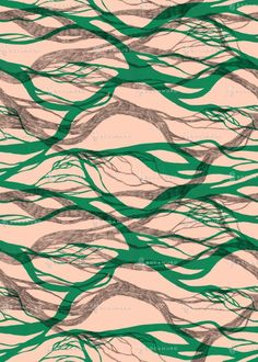 RIVERS pattern by Bocamuro