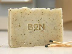 Gunpowder natural soap bar
