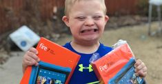 We're creating a video for World Down Syndrome Day 2018, and we want you (and you're family in it.) We're also giving away 2 Fire Tablet Kid Editions!