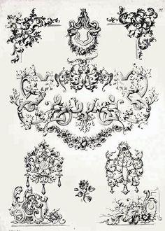 Die 22 Besten Bilder Von Barock Barock Barock Muster Und Handarbeit