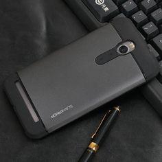 "Durable Hybrid Silicone Hard Back Shockproof Tough Slim Armor Case For ASUS Zenfone 2 5.5"" ZE551ML ZE550ML ZE551 ZE550 TPU Cases"