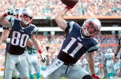 Julian Edelman finished with 105 receptions in 2013 to join Wes Welker (2007-09, 11-12) and Troy Brown (2001) as the only Patriots players to reach 100 receptions in a season. Edelman is averaging 6.4 receptions per game in 2013.