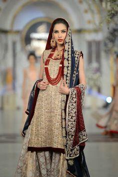 Rani Emaan - Pakistani Bridal Fashion at Pantene Bridal Couture Week 2013 PBCW Lahore