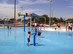 Make a Summer Day Awesome for Your Kid at a Phoenix Splash / Spray Pad: Goodyear: City of Goodyear Splash Pad