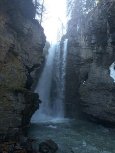 Johnston Canyon, Future Travel, Art Reference, Waves, Canada, Pictures, Waterfalls, Outdoor, Dreams