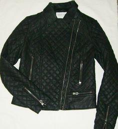 MERAVIGLIOSA   giacca   in   ecopelle   da   donna