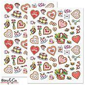 CM Valentine Stickers