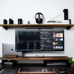 Home Studio Setup, Home Office Setup, Home Office Space, Home Office Design, Computer Gaming Room, Computer Desk Setup, Gaming Room Setup, Bedroom Setup, Video Game Rooms