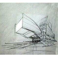 """The white and the out of focus back end, emphasises the feature of the building. (""""By @shahin_faraji_ #arch_more"""")"""