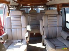 Neutral Interior 1998 GMC Savana Van 1500 Passenger Conversion ...