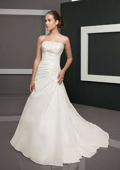 Mori Lee 2308 wedding gown Ivory Size 10 Inexpensive clearance $260